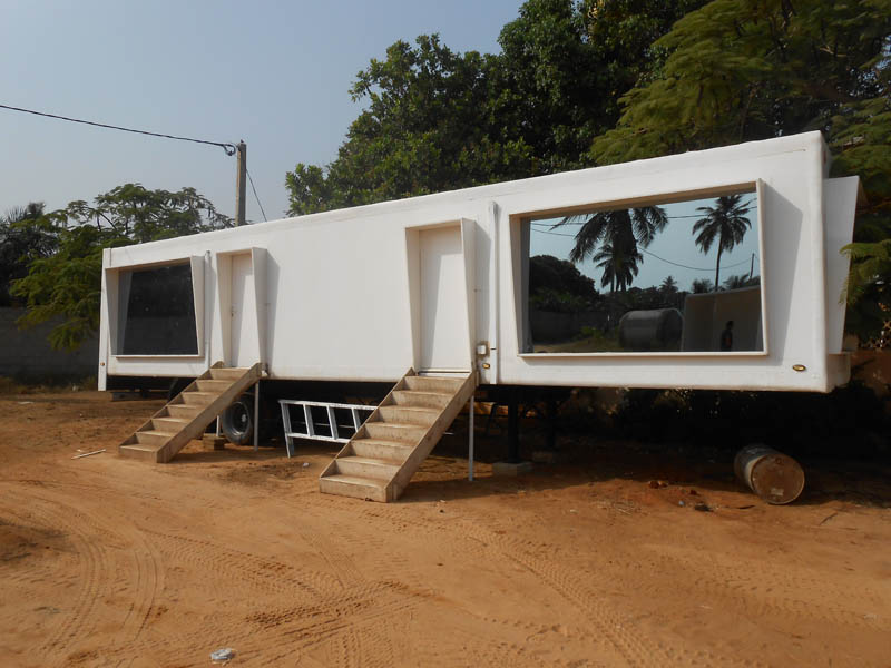 Module africa for Construction modulaire container